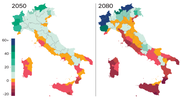 THE IMPACT ON THE PROVINCES