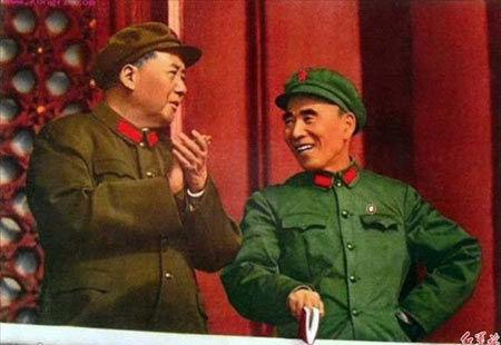 Photo: Chen Yi memorial service Mao Zedong, Lin Biao should we get rid of all