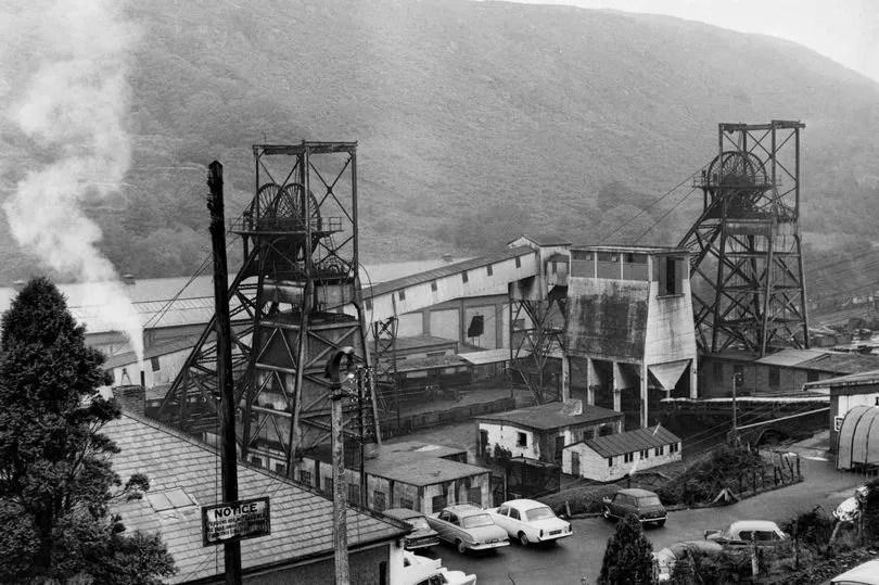 ( Taff Merthyr Colliery in 1966 via WalesOnline )