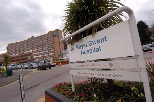 The Royal Gwent Hospital, Newport.