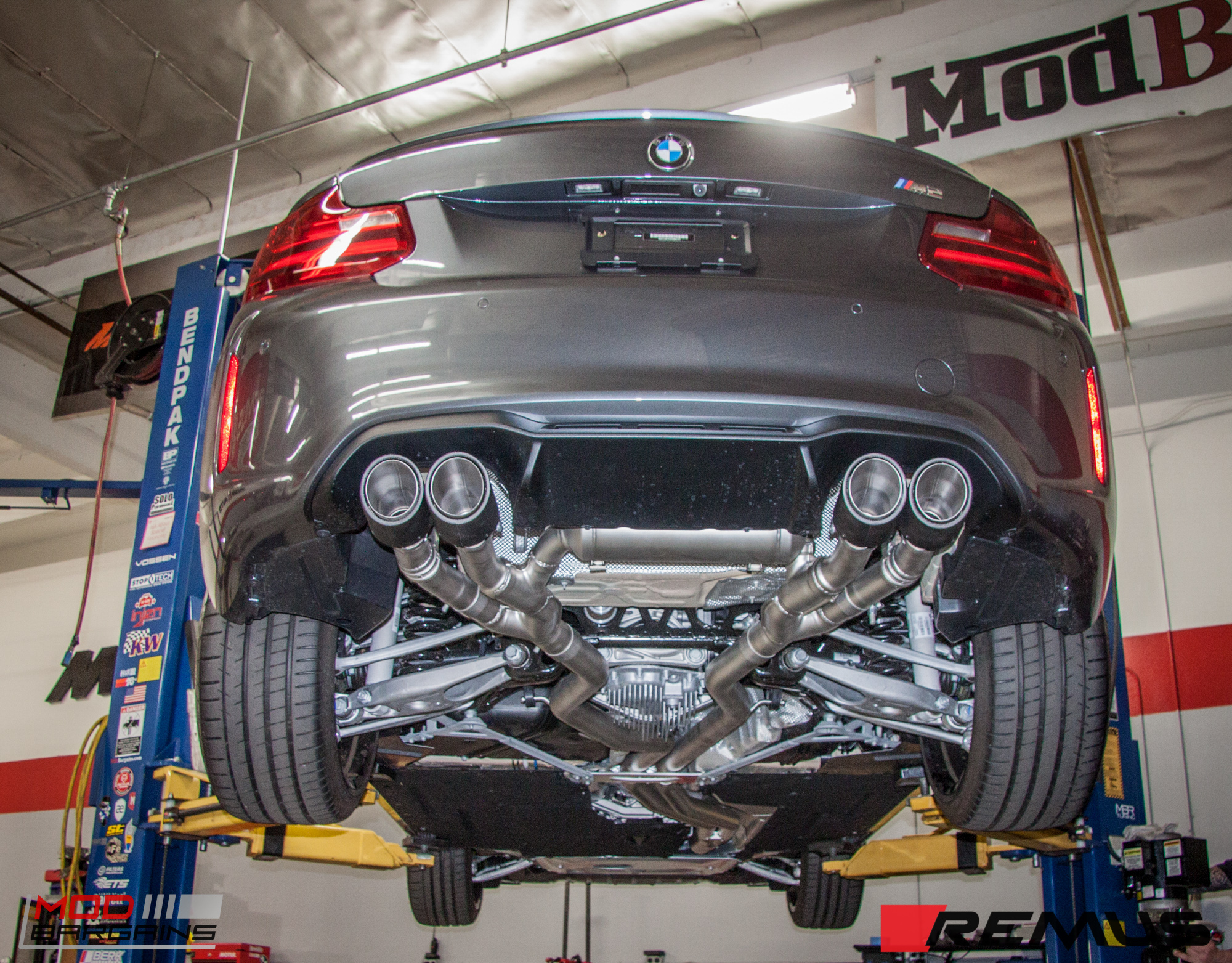 remus exhaust for bmw m2 f87