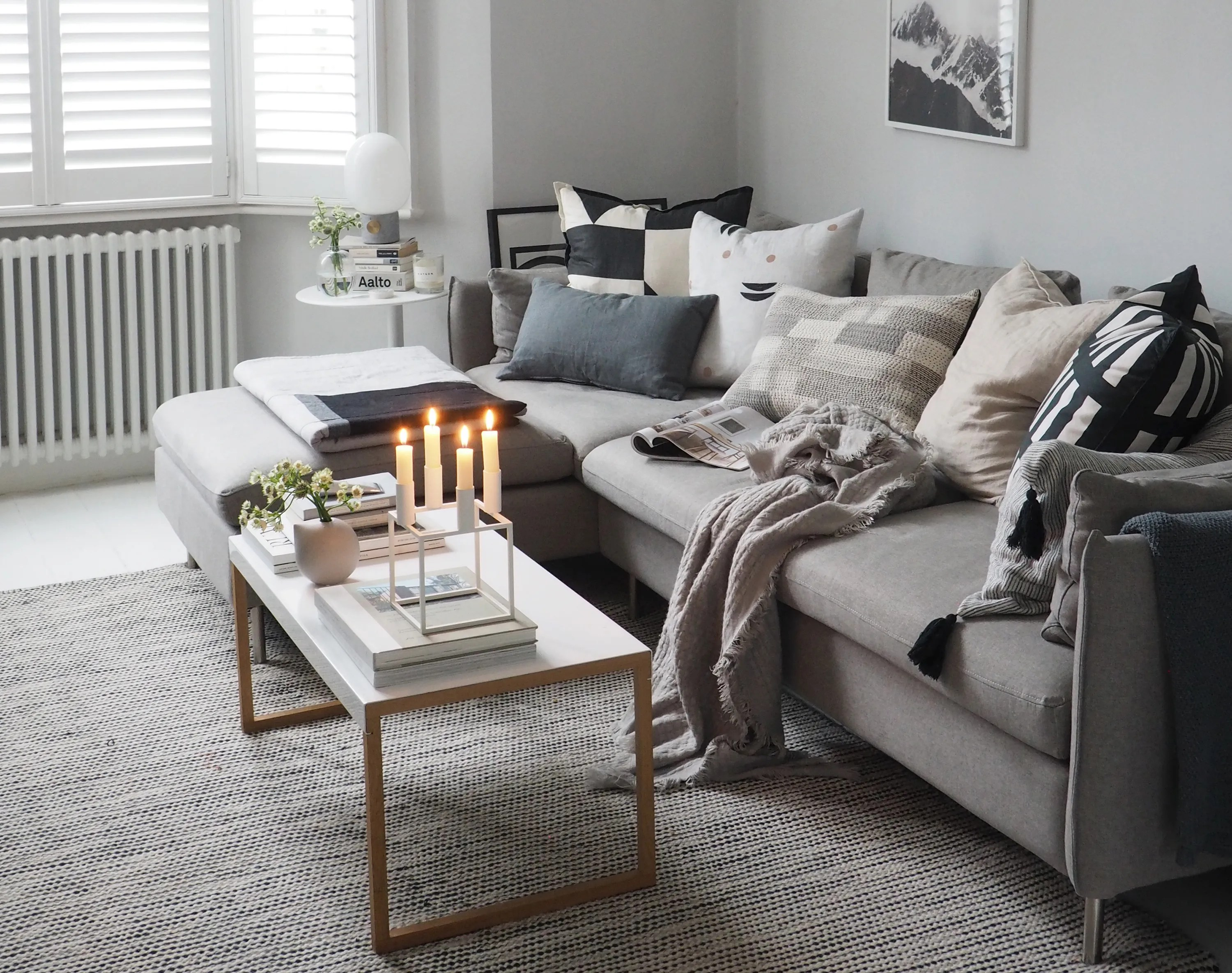 your living room feel cosy