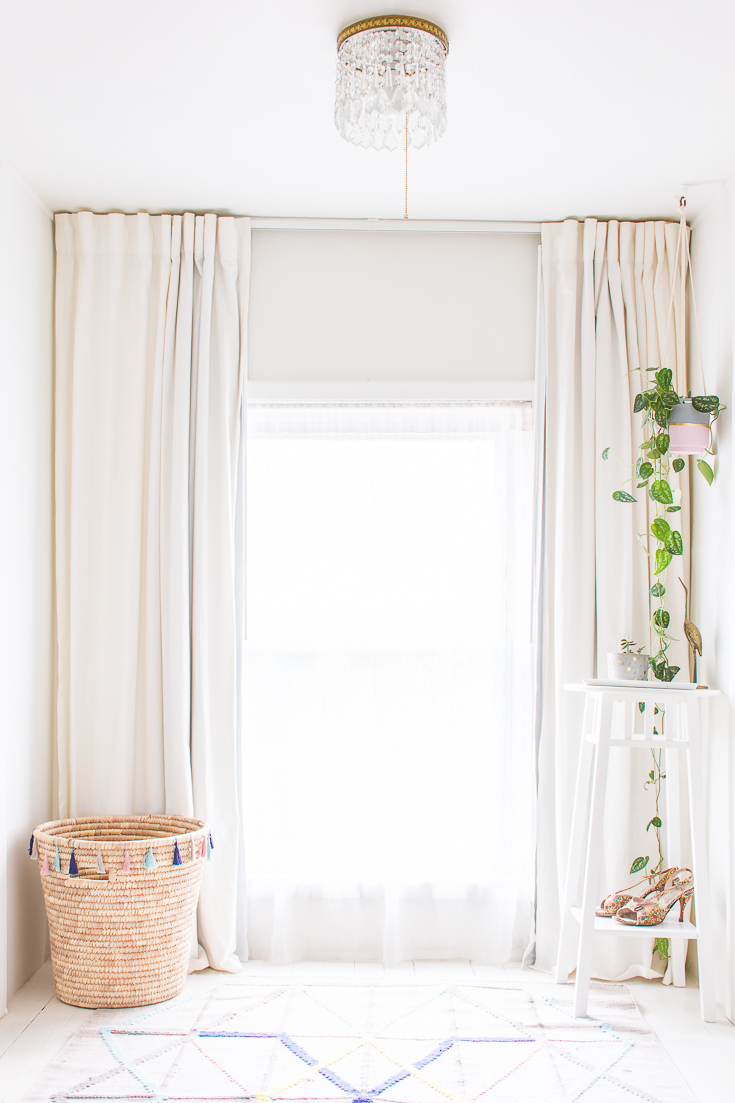 hanging your curtains right