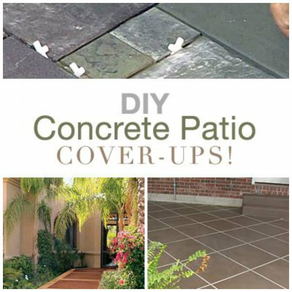 update your worn out concrete patio