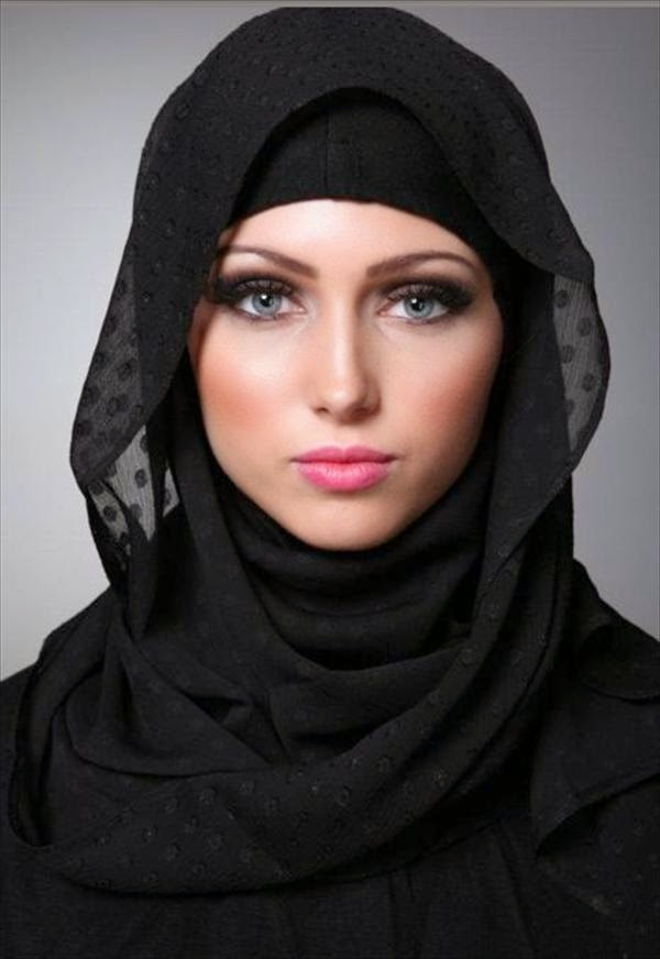 Model Hijab Arab Cantik