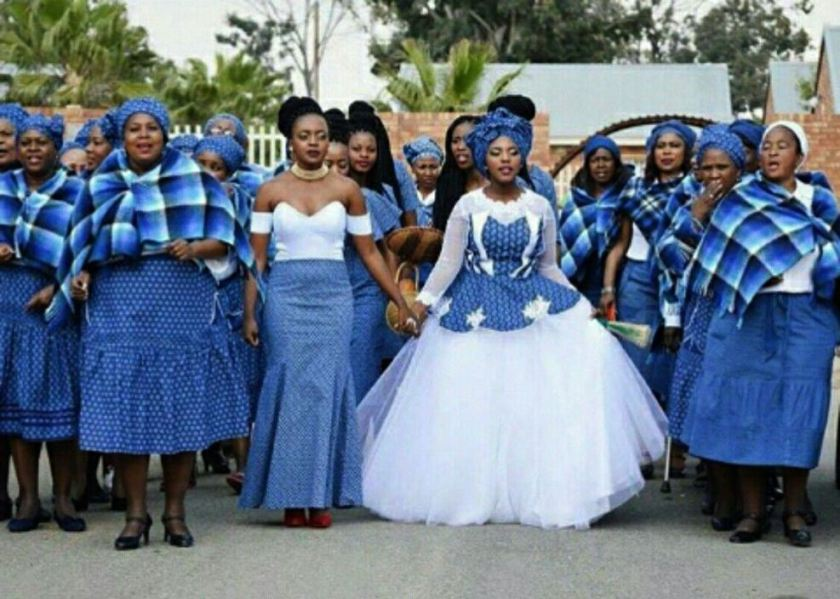 South African Wedding Woman Dresses Pictures 2018