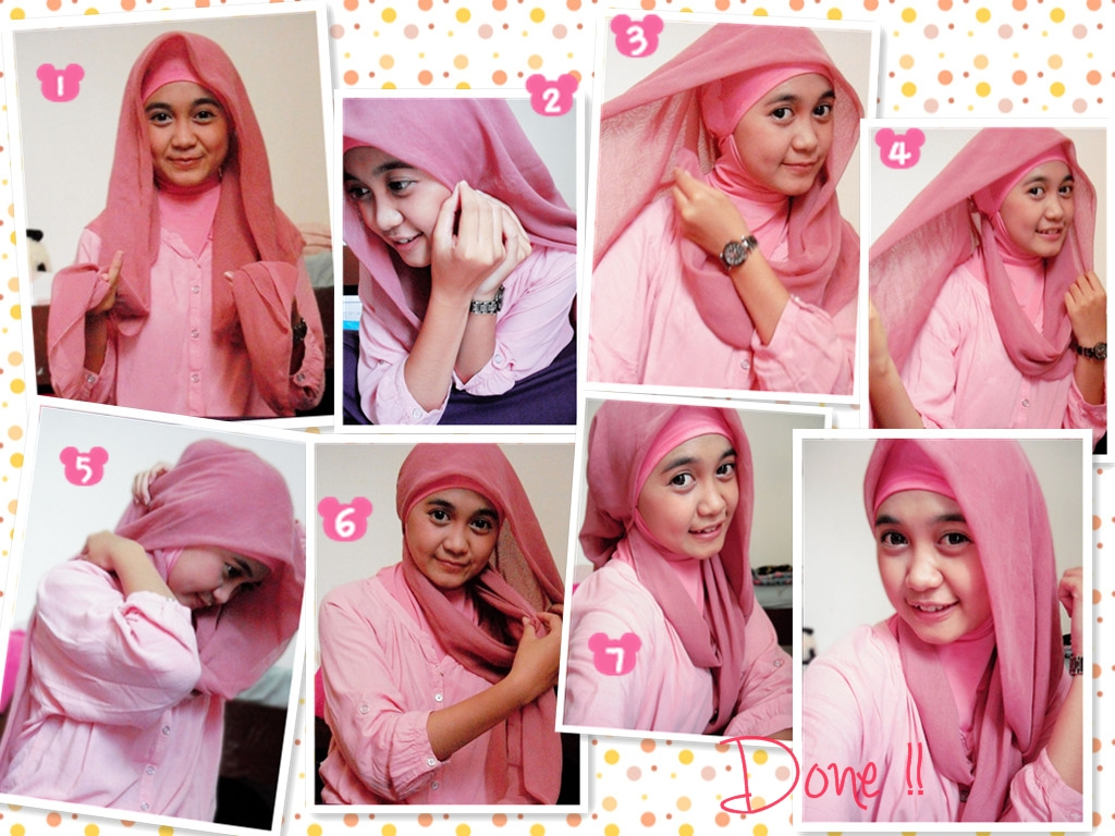 Model Hijab Terbaru Paris