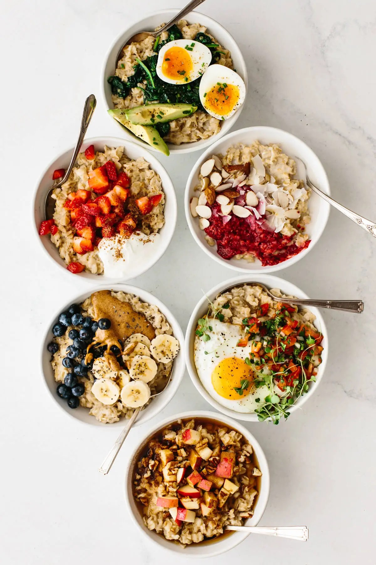 easy oatmeal recipe healthy toppings