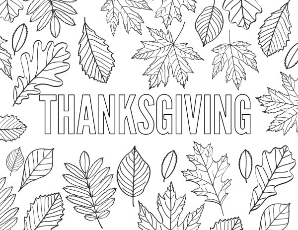 thanksgiving coloring pages free # 28