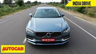 Download Volvo S90 D4 | India Drive | Autocar India Video