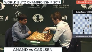 Download ANAND vs CARLSEN || WORLD BLITZ CHAMPIONSHIP 2017 Video