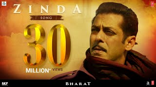 Download 'Zinda' Song - Bharat | Salman Khan |Julius Packiam & Ali Abbas Zafar ft. Vishal Dadlani Video