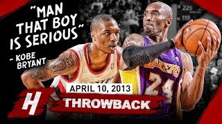 Download The Game Rookie Damian Lillard SHOCKED Kobe Bryant 2013.04.10 - EPIC Duel Highlights! Video