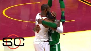 Download LeBron James and Kyrie Irving reunite for NBA All-Star game | SportsCenter | ESPN Video