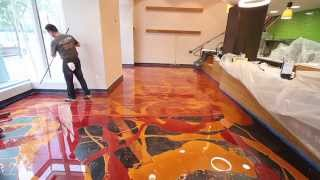 Download Learn To Install Metallic Epoxy Video
