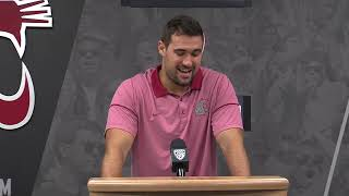 Download Nick Begg Press Conference 9/17 Video