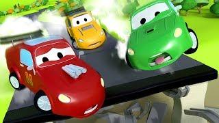Download The Giant Vaccum Truck - Carl the Super Truck in Car City | Children Cartoons Video