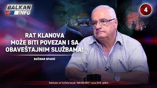 Download INTERVJU: Božidar Spasić - Rat klanova može biti povezan i sa obaveštajnim službama! (24.06.2018) Video