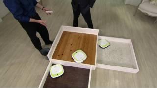 Download EcoVacs DeeBot Slim Bare Floor Sweep,Vac & Mop Robotic Vacuum on QVC Video