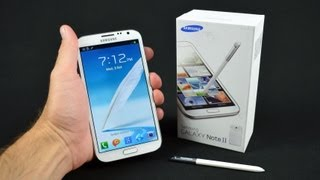 Download Samsung Galaxy Note II: Unboxing & Review Video
