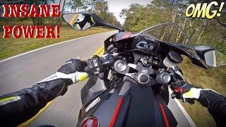 Download 2017 Honda CBR1000RR Test Ride + 6th Gear Wheelie Video