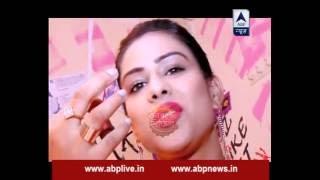 Download TV divas flaunt their lipstick shades Video