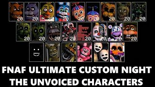 Download Fnaf|Ultimate Custom Night|The Unvoiced Characters Video