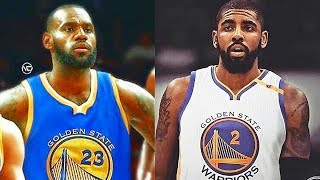 Download LeBron James and Kyrie Irving Join the Warriors with Stephen Curry and Kevin Durant! Video
