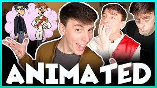 Download Becoming a CARTOON! | Thomas Sanders feat. Butch Hartman! Video
