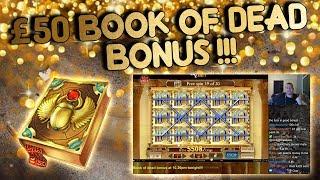 Download £50 Book of Dead Bonus!!!! (from live stream) Video