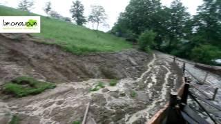 Download Osuwiska w powiecie limanowskim i stan rzek Video