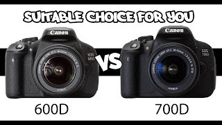 Download Canon 600D vs 700D - The suitable choice for you Video