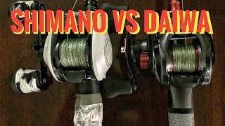 Download Daiwa vs Shimano Video