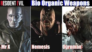 Download RE2 Most Dangerous Bio Weapons (B.O.W.) - Resident Evil 2 Remake 2019 Video