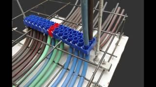 Download תצוגת שיטה חדשה לעברת צינורות חשמל Video