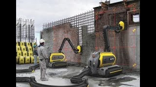 Download Robotic engineering and construction equipment (heavy machinery) Video