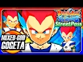 Download Dragon Ball Fusions 3DS English: Mixed God Gogeta (SSG & SSGSS Streetpass Fusion) Fusion Gameplay Video