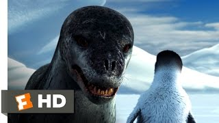 Download Happy Feet (3/10) Movie CLIP - Leopard Seal Chase (2006) HD Video
