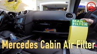 Download Mercedez Benz GL/ML Cabin Air Filter replacement 2007-2016 Video