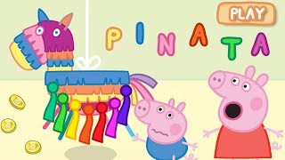 Download Peppa Pig App | Let's Play PINATA Surprise Game! | Game for Kids Video