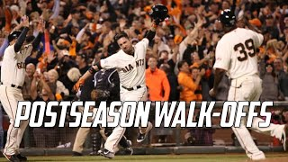 Download MLB | Postseason Walk-Offs (2017-2010) Video