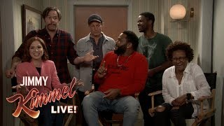 Download Jimmy Kimmel Chats with Cast of All in the Family & The Jeffersons Video