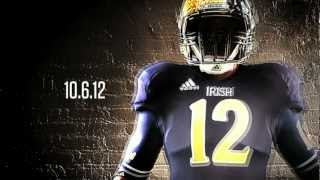 Download 2012 Notre Dame Football Shamrock Series Helmets - Paint Process by Troy Lee Designs Video