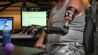Download APL's Modular Prosthetic Limb Reaches New Levels of Operability Video