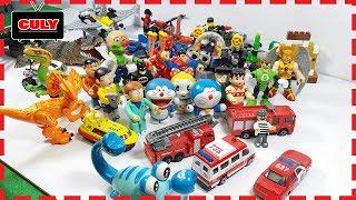 Download Đồ chơi bộ sưu tập những mô hình nhân vật mà cu lỳ đang có lego my collection mini figures toy for Video