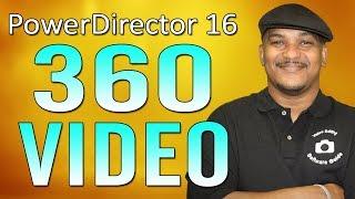 Download CyberLink PowerDirector 16   360 Video Editing Tutorial Video