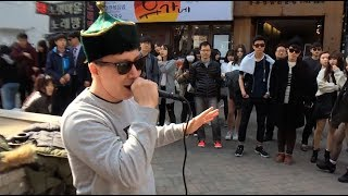 Download My throat singing performance in Seoul (South Korea) Video