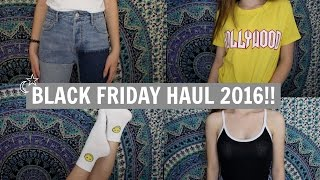 Download HUGE BLACK FRIDAY HAUL 2016!!/Pacsun, Zara, Forever 21, Video