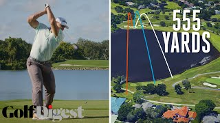 Download Long Drive Champion Tries to Hit the Green on a 555-Yard Par 5 at Bay Hill | Golf Digest Video