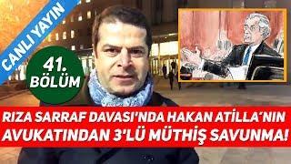 Download Rıza Sarraf (Reza Zarrab) Davası'nda Hakan Atilla'nın Avukatından 3'lü Müthiş Savunma! Video